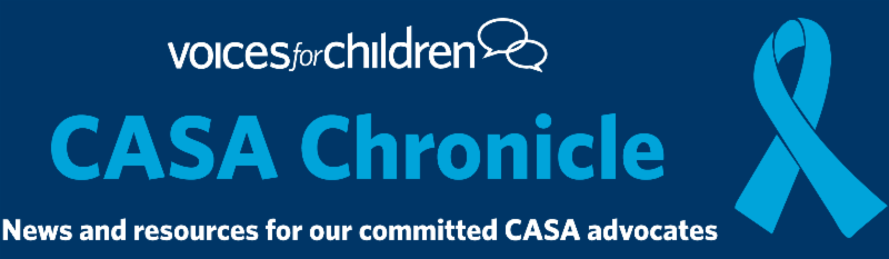 CASA Chronicle Masthead
