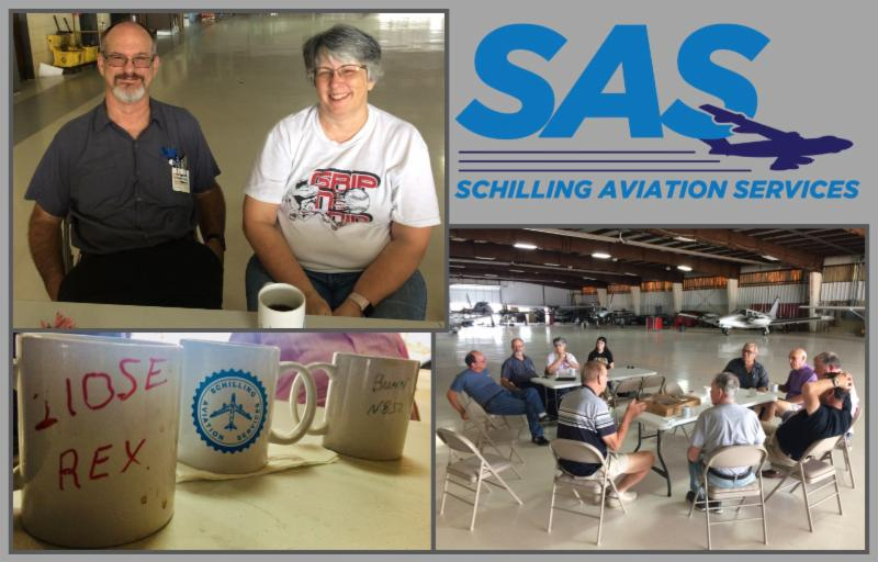September 2018 Reporting Points from the Salina Airport Authority