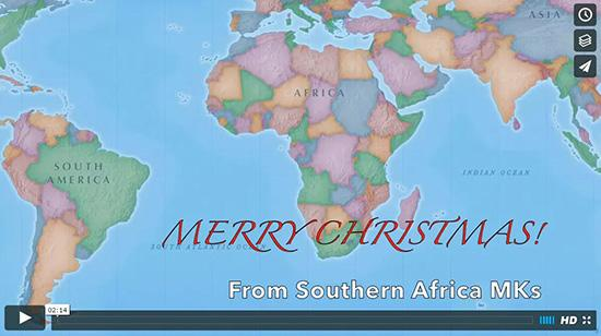 Merry Christmas from Southern Africa MKs