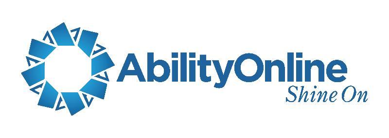 Ability Online new logo