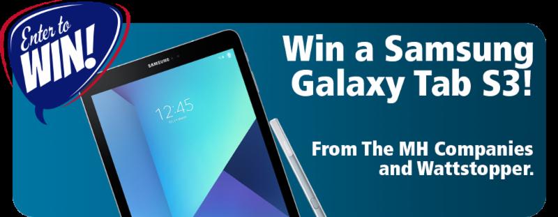 Win a Samsung Galaxy Tab S3
