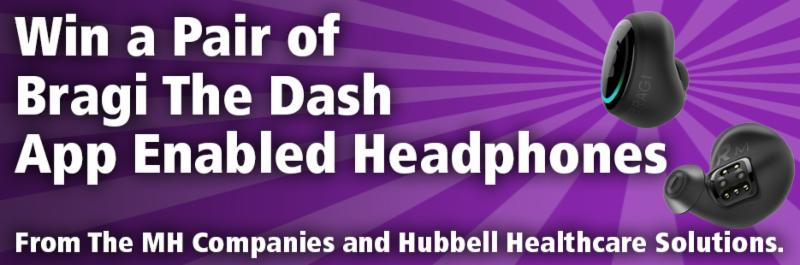 Win a Pair of Bragi The Dash App Enabled Headphones