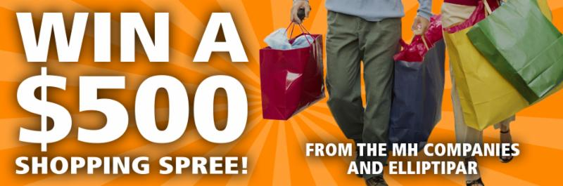 Win a _500 Shopping Spree