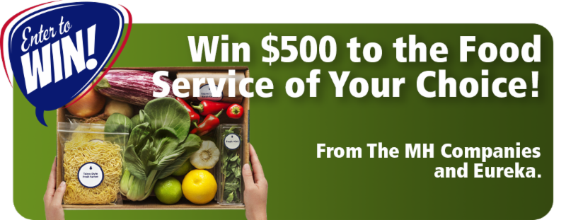 Win _500 to the Food Service of Your Choice_
