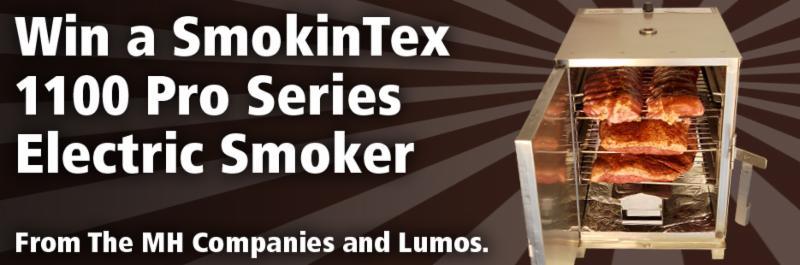 Win a SmokinTex Smoker