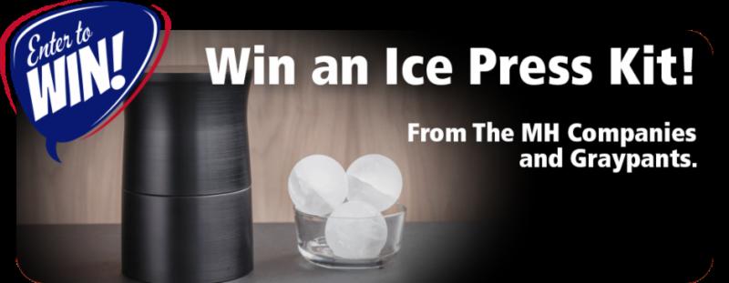 Win an Ice Press Kit