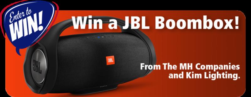 Win a JBL Boombox