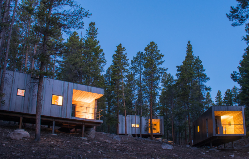 Colorado Outward Bound School Year-Round Micro-Cabins