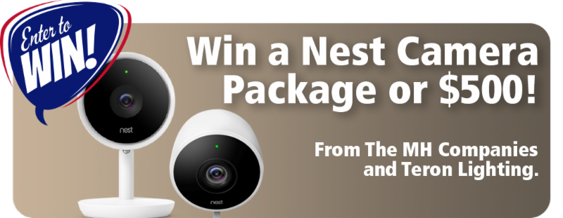 Win a Nest Camera Package or _500_