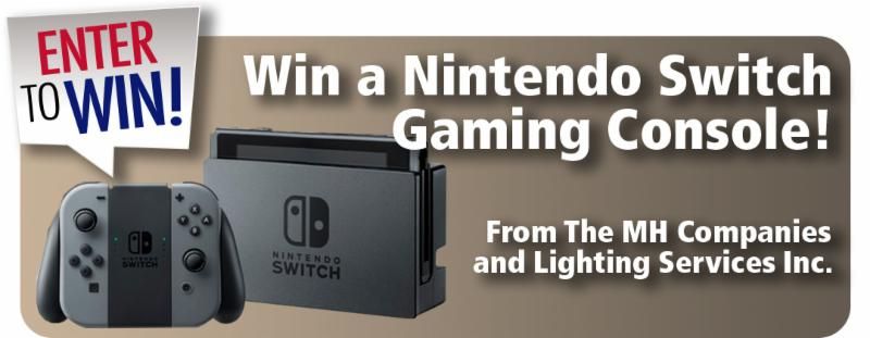 Win a Nintendo Switch Gaming Console