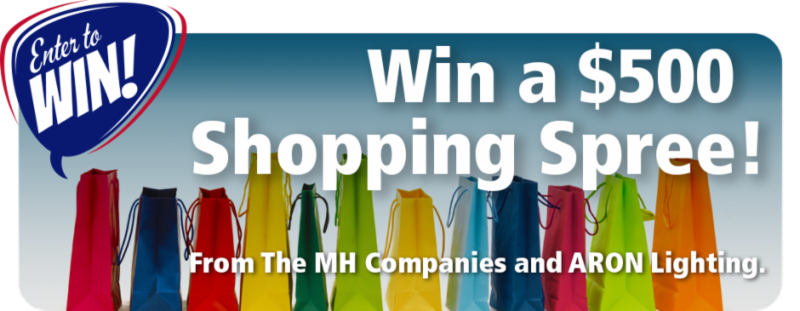 Win a Shopping Spree Banner