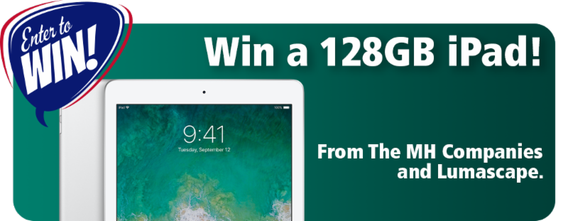 Win a 128GB iPad