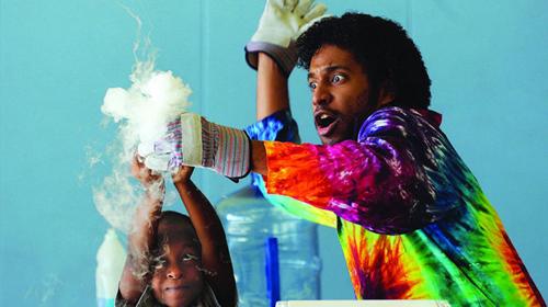 lab experiment kid science