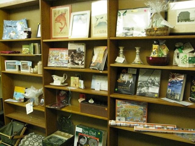Silent Auction Shelves