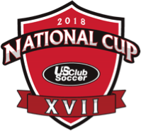 NISL / US CLUB SOCCER 2018 CONGRATULATIONS NATIONAL CUP XVII CHAMPIONS!!