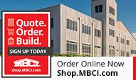 shop.mbci.com for metal roofs and walls
