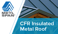 Visit metlspan.com for insulated metal wall and roof systems