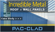 www.pac-clad.com for metal roof and wall panels