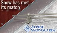 www.alpinesnowguards.com for rooftop snow retention products