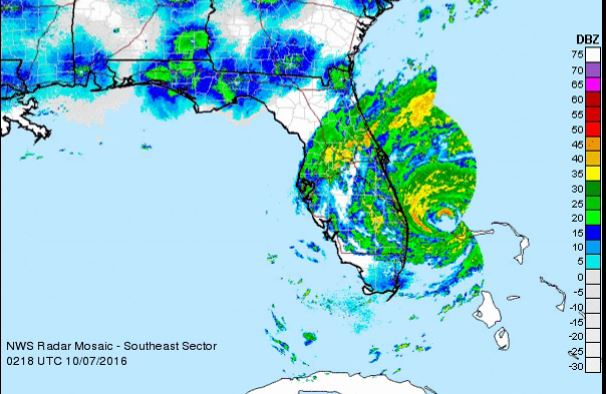 Hurricane Matthew Radar
