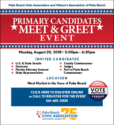 Candidate meet and greet 2018