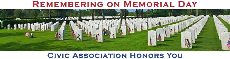 Remembering on Memorial Day-banner