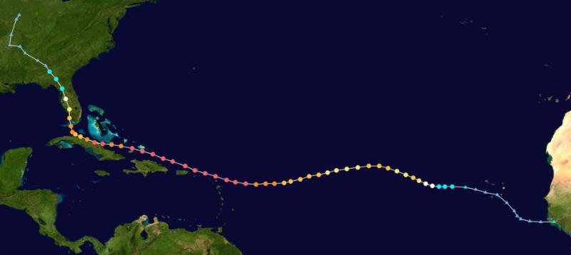 Full Irma Track