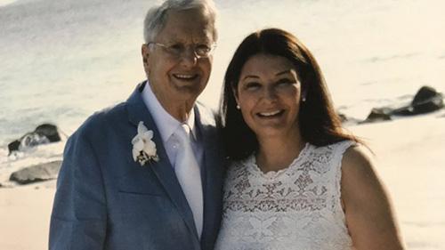 Diane and Llwyd Ecclestone