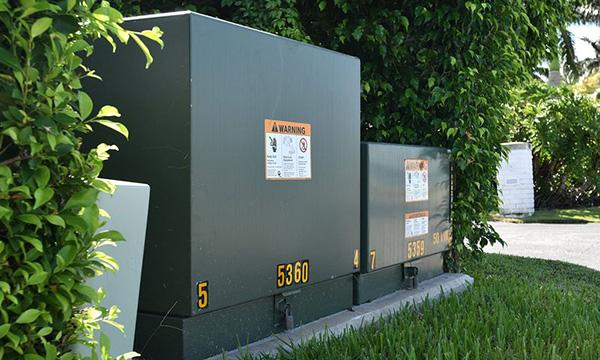 utility box transformer