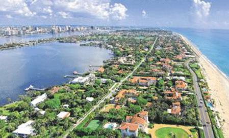 Palm Beach Aerial