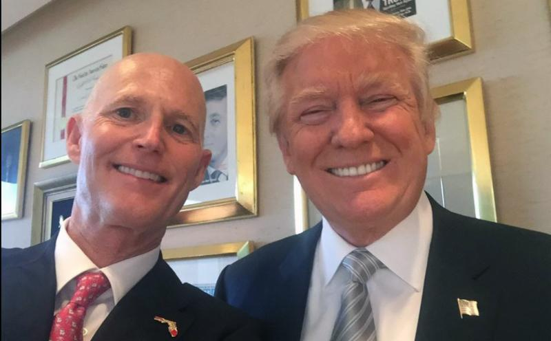 Scott & Trump