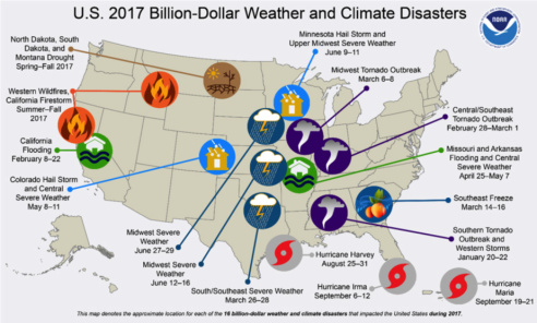 2017 weather disasters