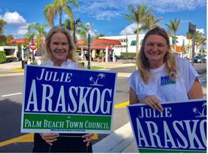 Julie Araskog campaign