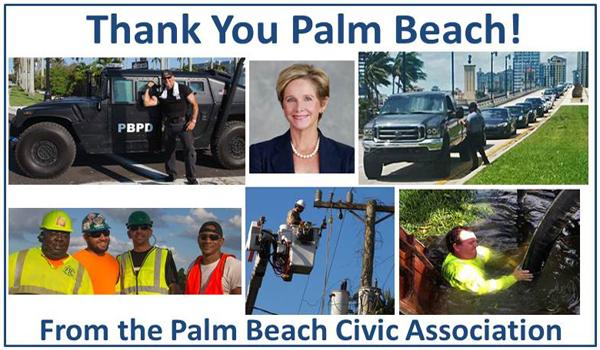 Thank You Palm Beach Hurricane Irma