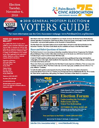 2018 Midterm election voters guide