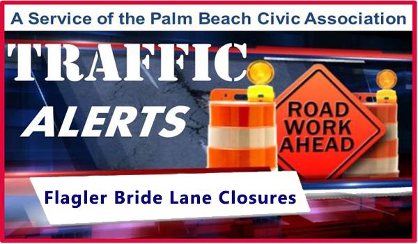 Flagler Bridge Lane Closure