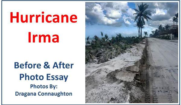 Hurricane Irma before and after