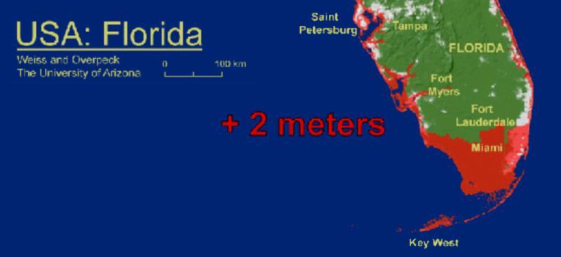 2 meter rise
