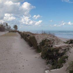 beach erosion Irma