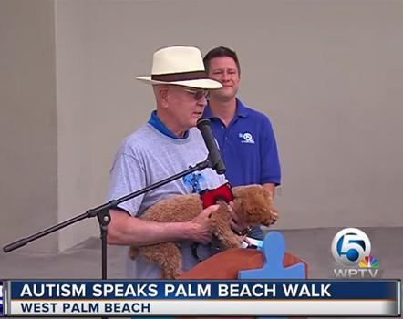 Bob Wright Autism Speaks Walk 2017
