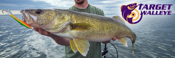 Skinniest walleye ever, Fishing the thermocline, Rock