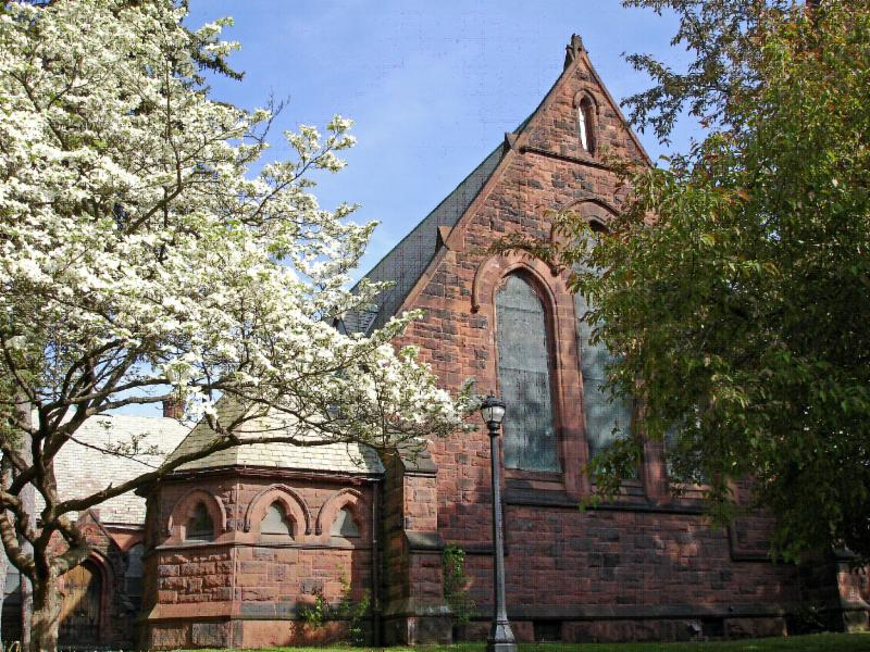 Spring at Christ Church