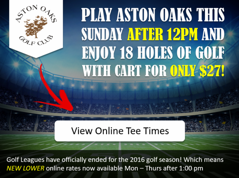 Aston Oaks Specials