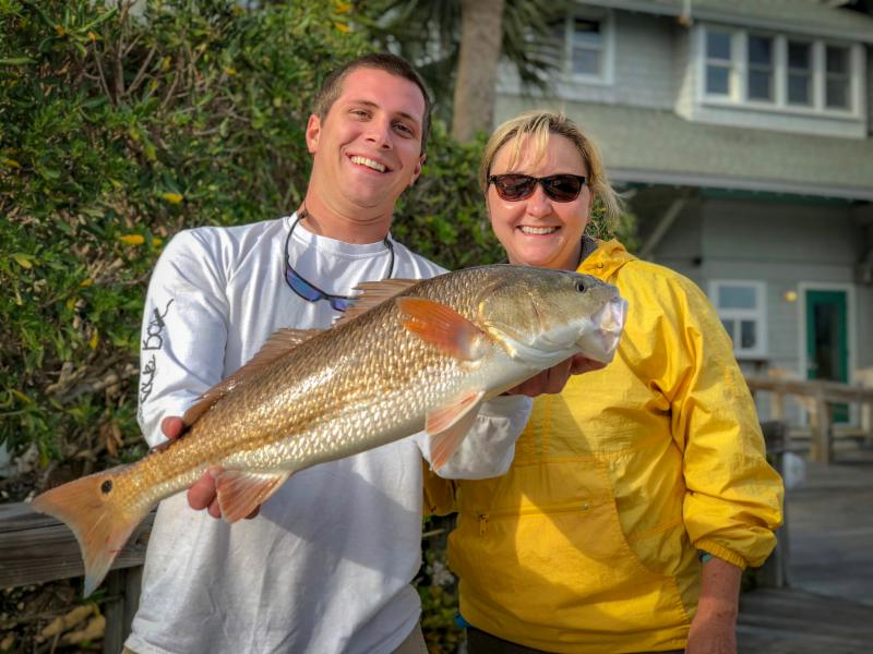 Fishing Report Pic Patty and Nic
