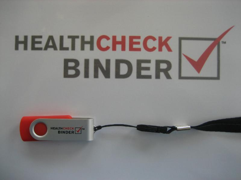 HealthCheck Binder