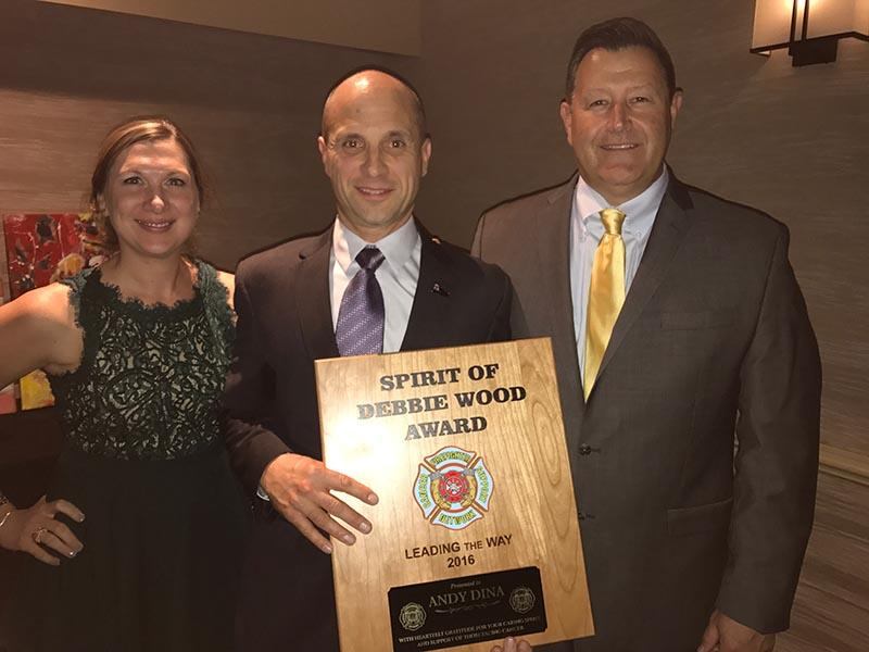 From Fcsn >> Naperville Fire Department Division Chief Receives Award From Fcsn