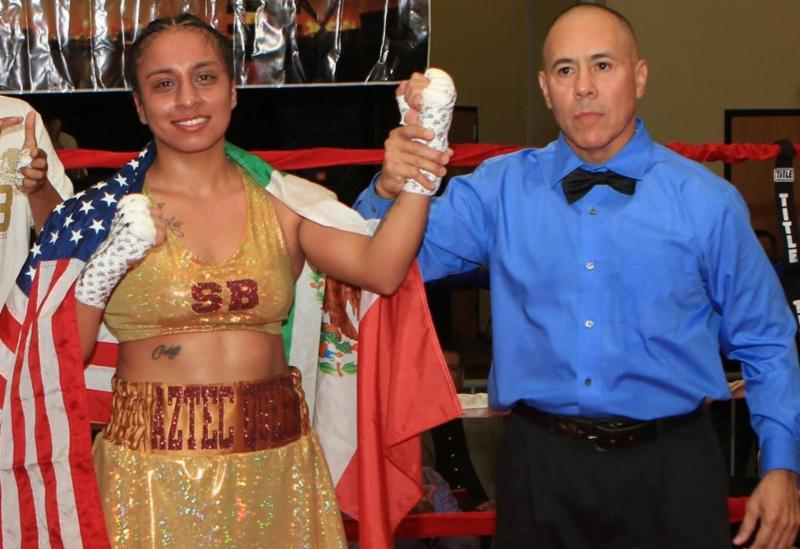 Video: Selina Barrios Scores Knockout of the Year Type KO Over Aida Satybaldinova