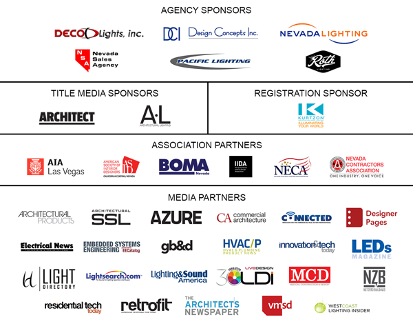 LightShow West 2018 Sponsors