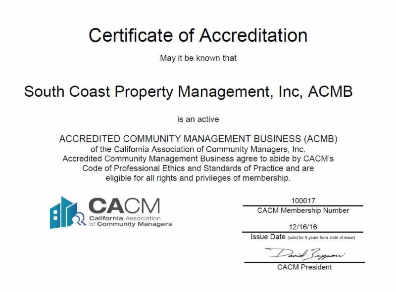 ACMB Designation