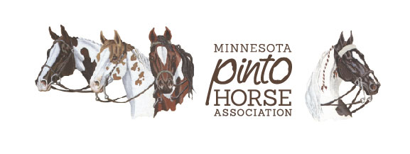 Logo with horse heads